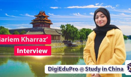 """Mariem Kharraz"" Studying Masters in International Business in Nantong University"