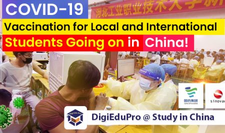 The Locals and Foreign Students Are Getting Covid-19 Vaccine (Sinopharm or Sinovac) Shots in China