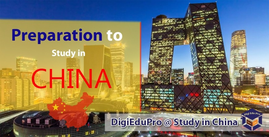 Preparation to Study in China