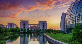Wuhan Textile University campus - 1