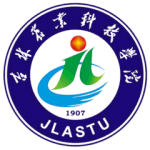Jilin Agriculture Science and Technology University campus. logo